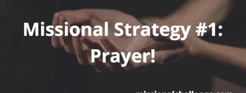 Missional Strategy #1: | missionalchallenge.com