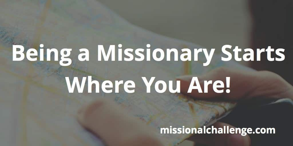 You, the Missionary