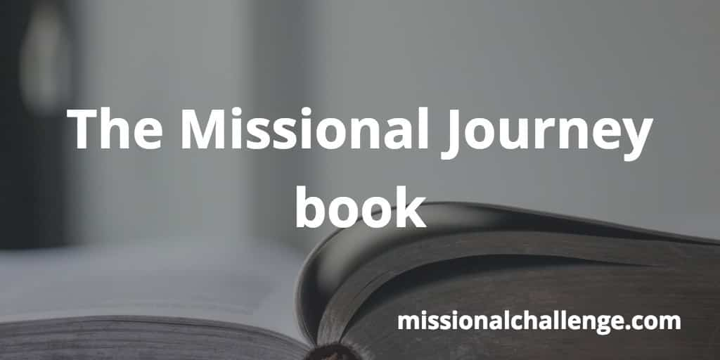 The Missional Journey book | missionalchallenge.com