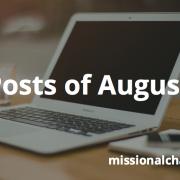 Best Posts of August 2012 | missionalchallenge.com
